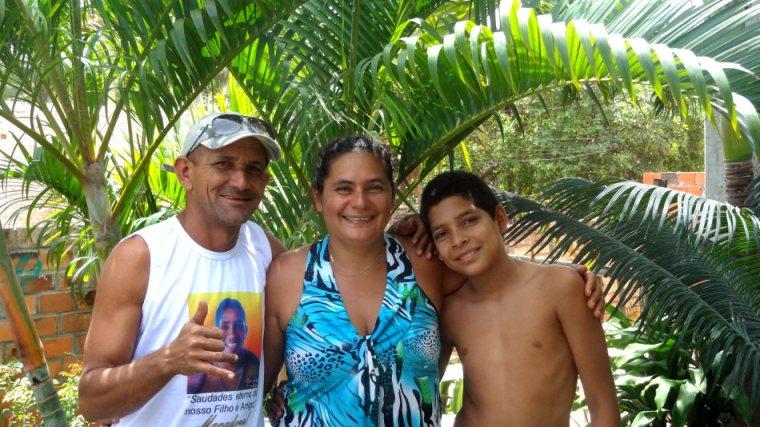 Merci beaucoup à nos sympathiques hôtes de Barreirinhas : Mão, Cineide et Eduardo