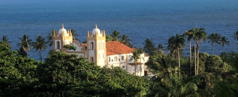 L'église du Carmo située dans le centre historique d'Olinda est l'une des 20 églises qui font le charme de cette ville au bord de l'eau