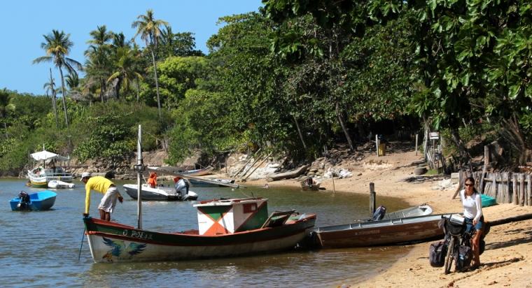 Caraiva, un village au milieu du sable