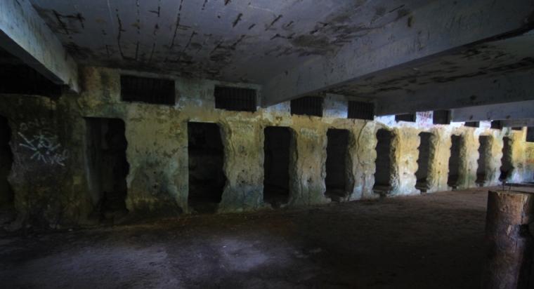 Centre Lazareto, aujourd'hui en ruine