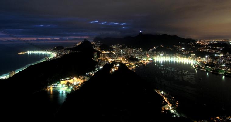 La ville de Rio de Janeiro vue depuis le Pain de Sucre