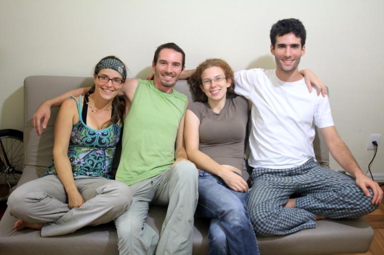 Anaí Vasconcelos et Rodrigo Primo, nos chaleureux hôtes de Rio de Janeiro
